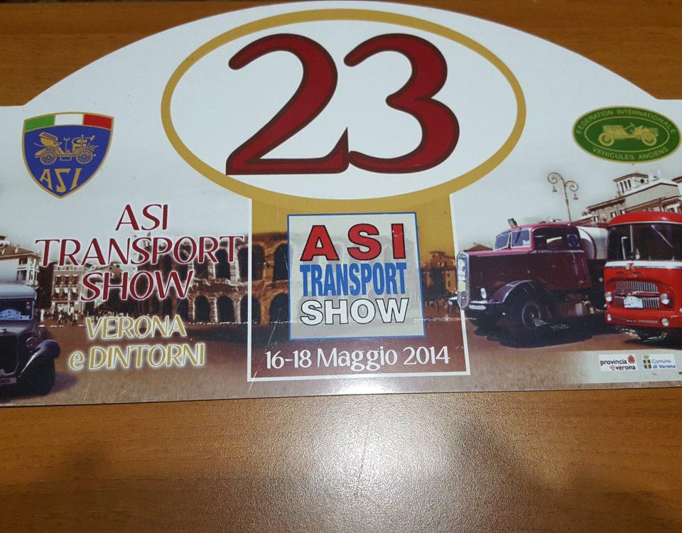 Raduno asi transport show 2014 verona